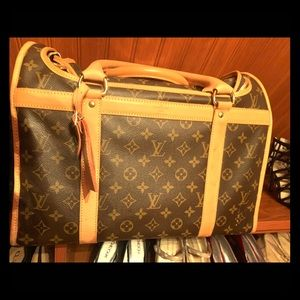 0dec7ef0912 Women s Louis Vuitton Pet Carrier on Poshmark